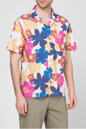 Мужская рубашка с принтом 1
