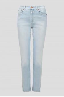 Женские голубые джинсы BRITNEY