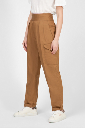 Женские коричневые брюки GWEN 1