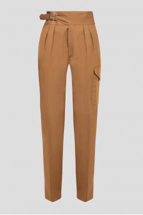 Женские коричневые брюки GWEN