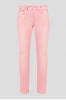Женские розовые джинсы BAKER