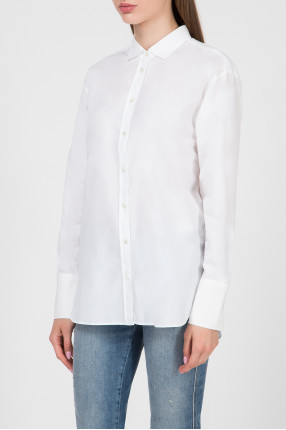 Женская белая рубашка 1