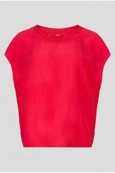 Женское малиновая блуза