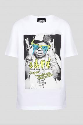 Женская белая футболка
