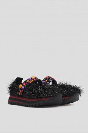 Женские черные туфли 1
