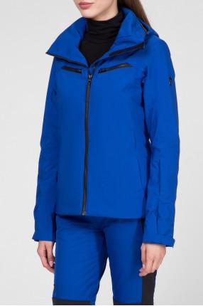 Женская синяя лыжная куртка 1