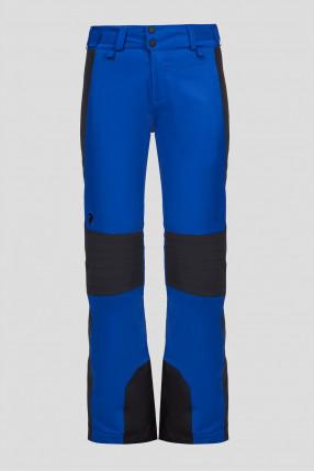 Женские синие лыжные брюки