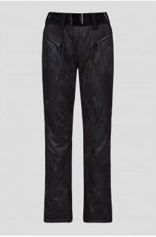 Женские черные лыжные брюки PILAR