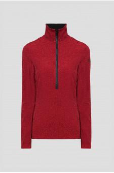 Женская красная спортивная кофта