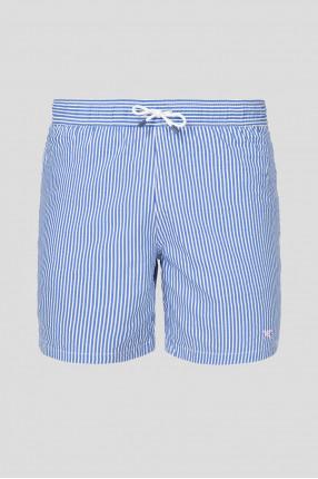 Мужские плавательные шорты в полоску