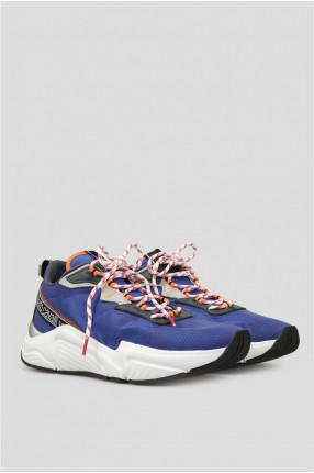 Мужские синие кроссовки 1