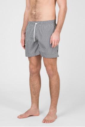 Мужские серые плавательные шорты 1