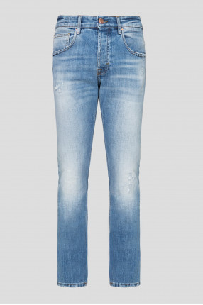 Мужские голубые джинсы New York