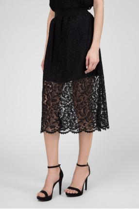 Женская черная юбка 1