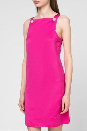 Женский розовый сарафан 1