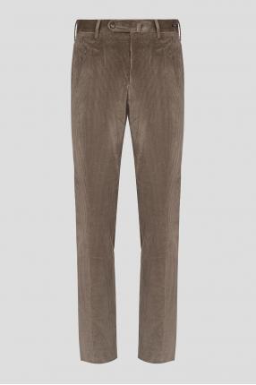 Мужские светло-коричневые вельветовые брюки