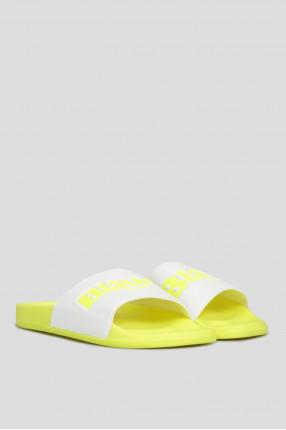 Женские желтые слайдеры 1