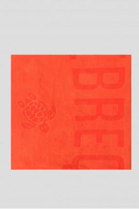 Мужское оранжевое полотенце 1