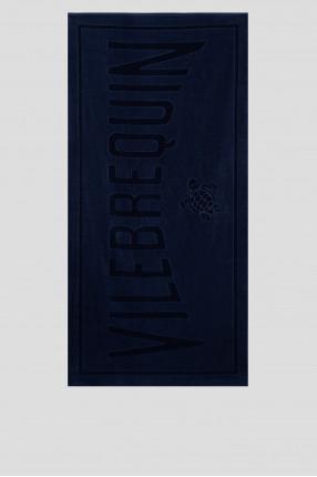 Мужское темно-синее полотенце