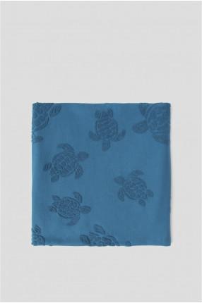 Мужское синее полотенце 1