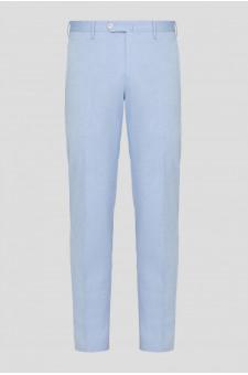 Мужские голубые брюки