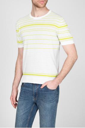 Мужская футболка в полоску 1