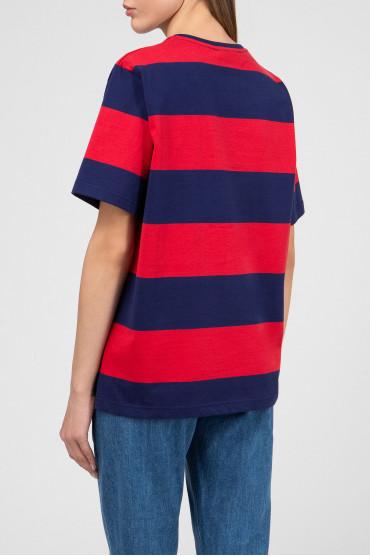 Женская футболка в полоску 3