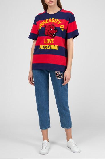 Женская футболка в полоску 5