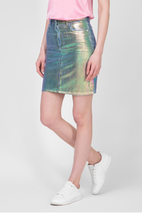 Женская джинсовая юбка  1