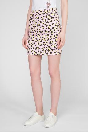 Женская розовая юбка 1