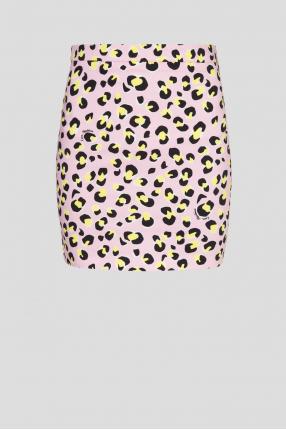 Женская розовая юбка