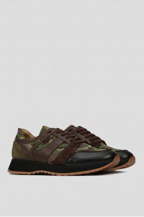 Мужские коричневые кроссовки 1